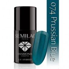 UV Hybrid Semilac 074 Prussian Blue 7 ml