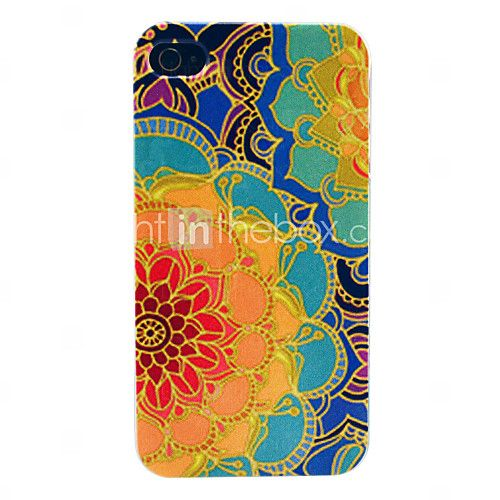 Hard Case retro di girasole Modello per iPhone 4/4S | MiniInTheBox