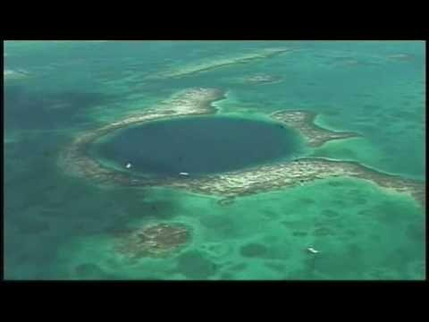 Matt Laurer (@TODAY) and Fabian Cousteau explore Belize's Great Blue Hole. #belize #diving