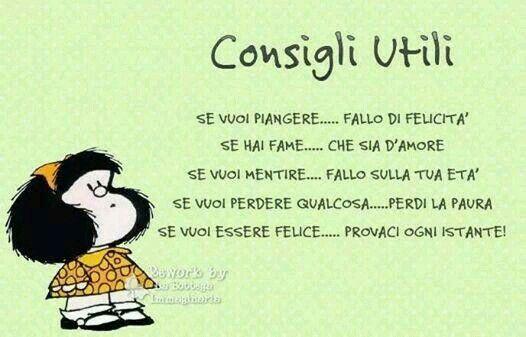 I consigli di Mafalda
