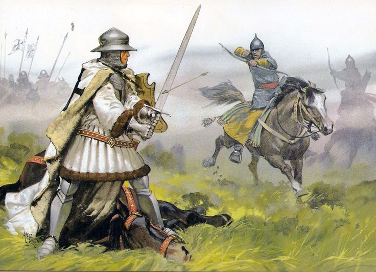 Lithuanian Horse Archer battling against Teutonic knights ...
