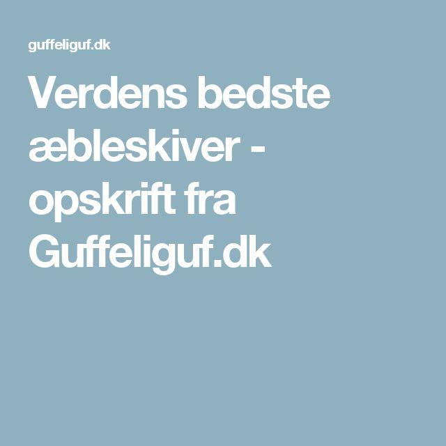 Verdens bedste æbleskiver - opskrift fra Guffeliguf.dk