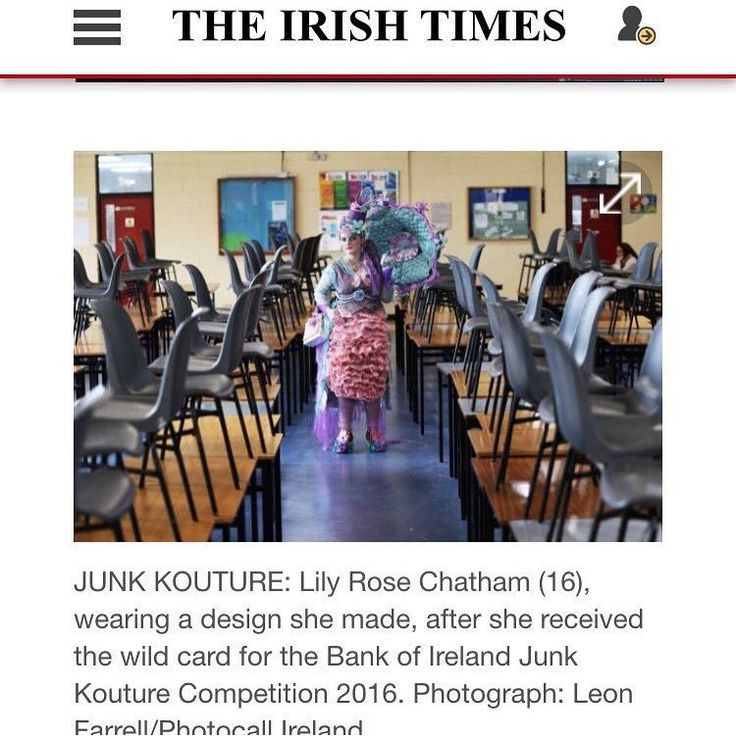 I'm in the Irish times 😱😍