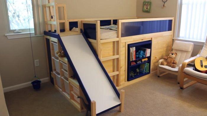 アイデア次第で、楽しいスペースができちゃう! イケアのキッズ用ベッド「KURA」は、ベッドのまわりをペイントし […]