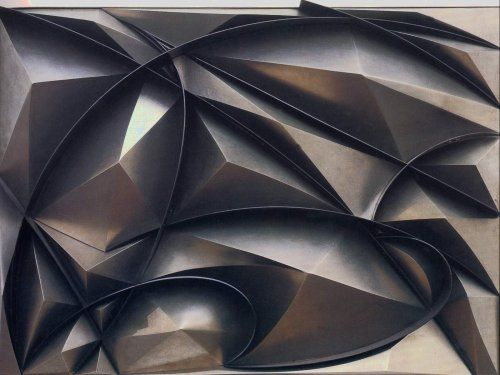 Giacomo Balla  Plastic Construction of Noise and Speed, 1915  Polymer Construction