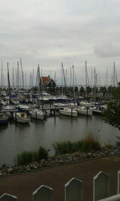 Marina park Volendam Nederland