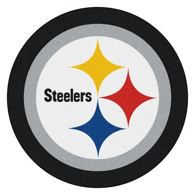 Pittsburgh Steelers Mascot Area Rug Floor Mat