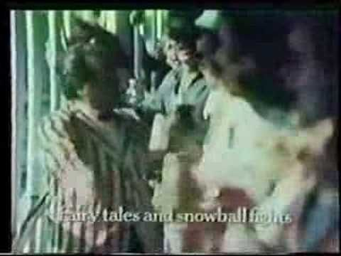 """Faygo Boat Song TV commercial - 1970's--Filmed on the Boblo Boat--  """"Comic books and rubber bands,  Climb into the tree top,  Falling down and holding hands,  Tricycles and red pop..."""