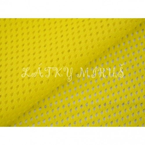 Dres - síťovina - žlutá