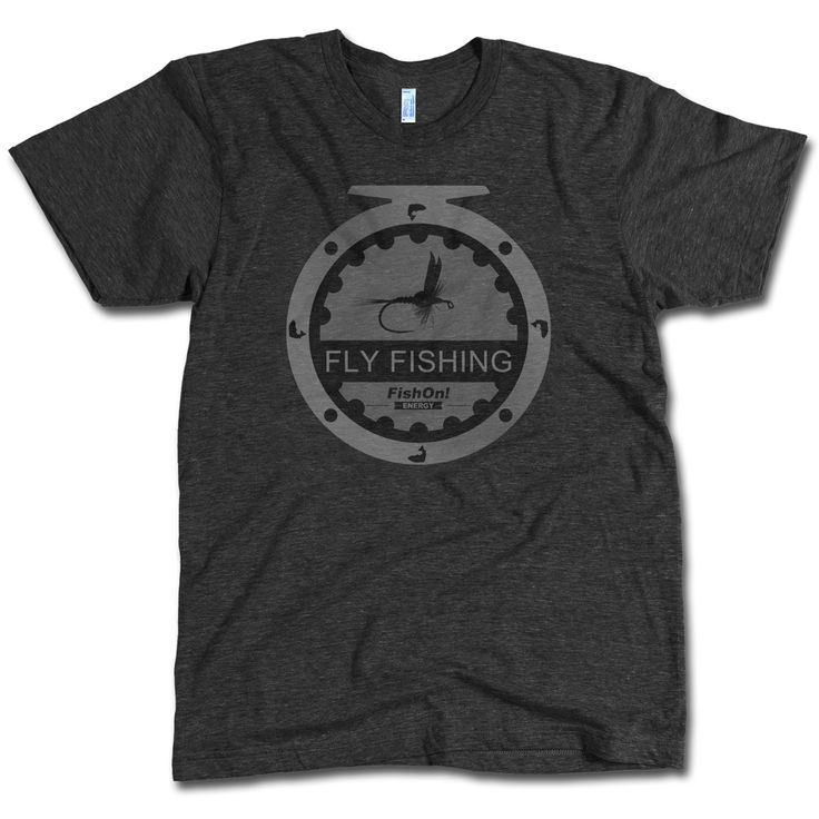 Fishon fly fishing t shirt fly fishing tops and tees for Fly fishing shirt