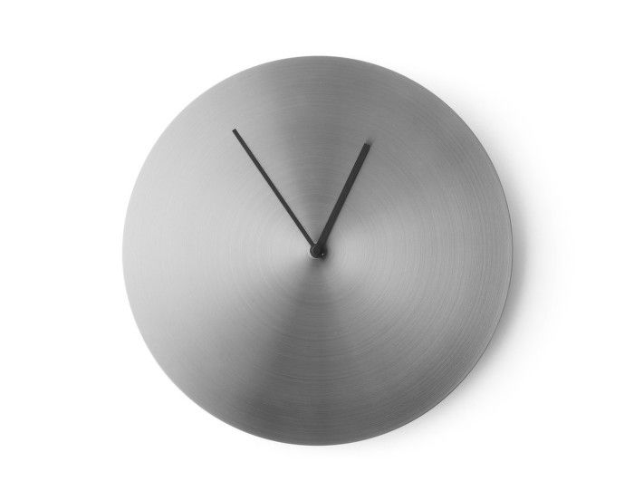 Norm Wall Clock, Stainless Steel