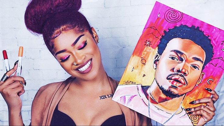❀ DRAW WITH ME ❀ | BRI HALL Ep. 1 ❀ CHANCE THE RAPPER ART