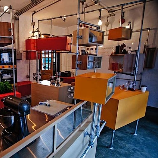 scaffold work stations, storage