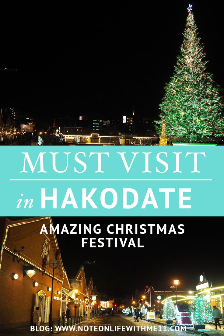 Amazing Christmas Festival in Hakodate Japan Travel