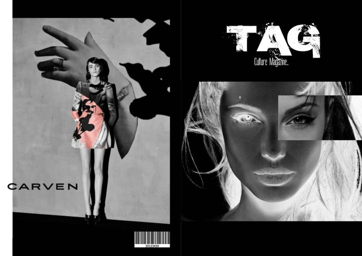 Front and back cover with carven advert.