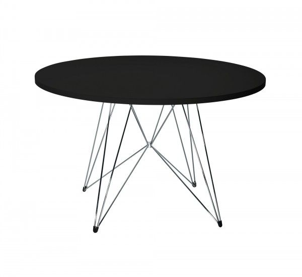 XZ 3 is a round dining table designed by Studio Tecnico Magis: design for the base mesh and pure geometric element to the plan. XZ3 is a table suitable for any environment. The plan is supported by a structure with steel rods while the top is MDF covered with a polymeric sheet. Perfect for all types of environment, it adapts to a classic style, giving the home a touch of contemporary modernity. The beauty of this table lies in its sophisticated simplicity. The base with its movement gives a…