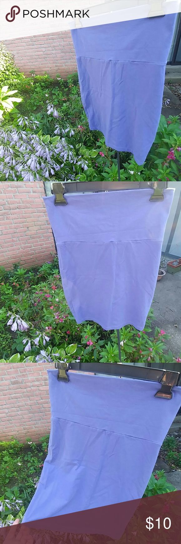 💟Purple Skirt &/OR Tube Top💟 Soft beautiful purple that definitely shows off your curves😘💟Excellent worn condition! You can wear this skirt out with heels or dress it down with a cute tank top and flip flops! Sadly it does not fit me anymore. This used to be one of my go to skirts ! Looks amazing with black! Forever 21 Skirts Mini