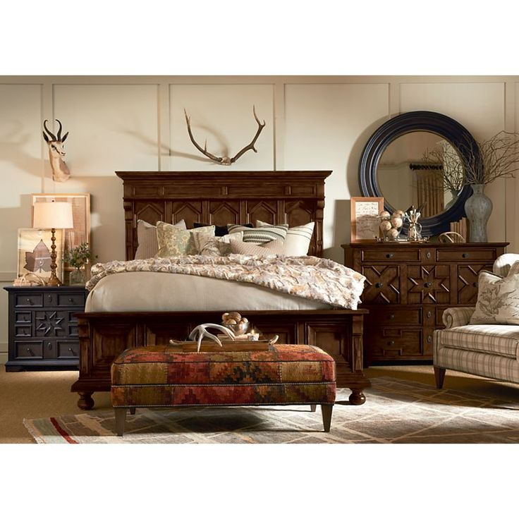 de Brazza Panel Bed from the Viage