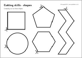 23 best Kids Cut and Paste Worksheets images on Pinterest