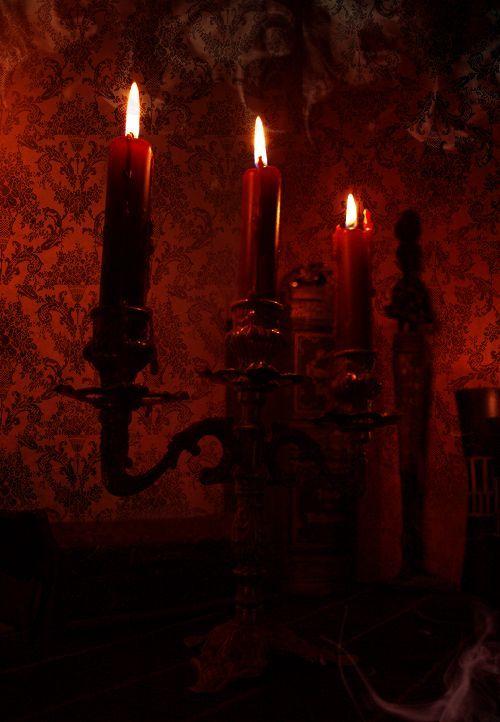 Significado de las velas rojas al quemarse