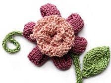 Crochet & Knitting..flowers. download patterns!!!