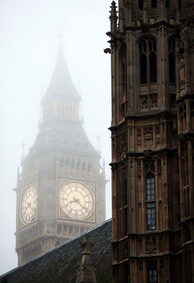 Big Ben, London, England (45 photos): foggy big ben london england