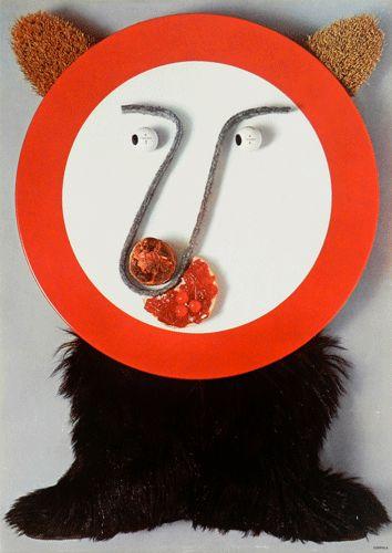 Progetto grafico di Silvio Coppola, (1920-1985). Stampa: Sisar - Milano.