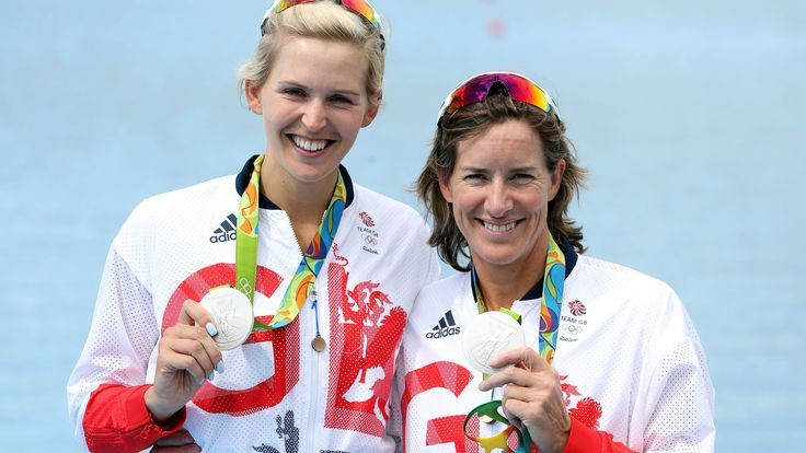 Katherine Grainger became Great Britain's most decorated female Olympian when she and Vicky Thornley won a silver medal in the double sculls that even they had felt was unlikely just three months ago.  Grainger now has four silver medals in her collection along with the gold that she won in London four years ago.