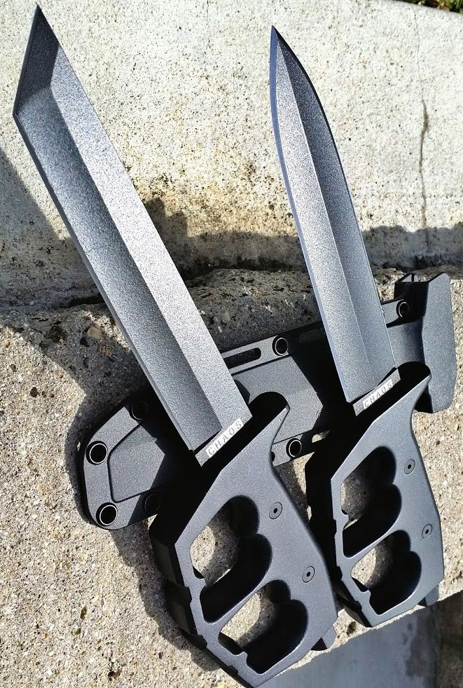 The Cold Steel Chaos Trench knives are bad to the bone!