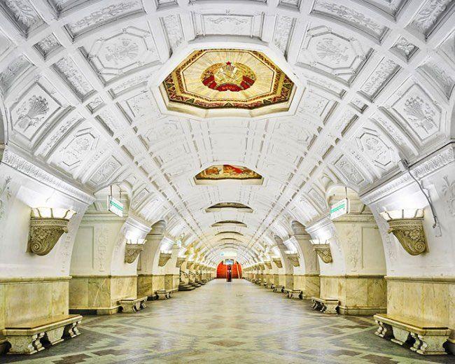 Belorusskaya Station, Moscow, Russia by David Burdeny.