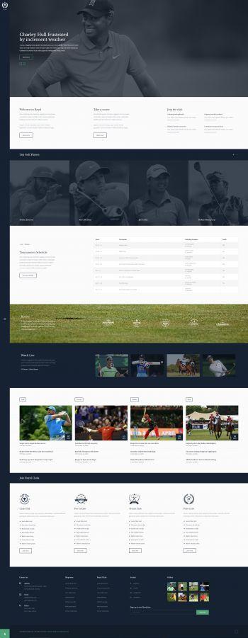 Royal - Joomla! Sports Club Template