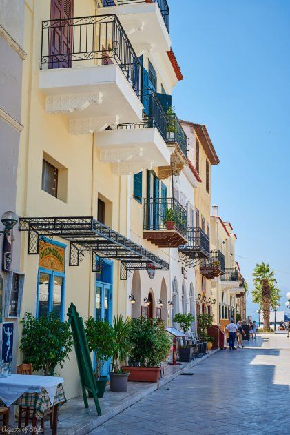 explore the picturesque town of Nafplio, which once upon a time was Greece's capital