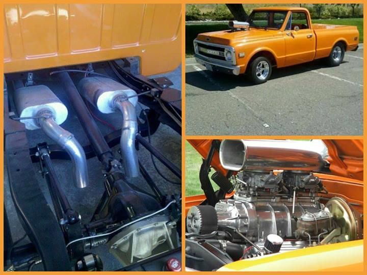 Best Truck Exhaust: C10 Chevy Truck Dual Exhaust System At Woreks.co