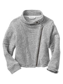 grey moto jacket for toddlers