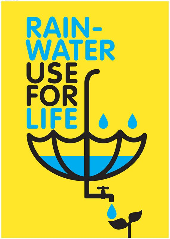 Poster Design For Rainwater Harvesting Little Stuff