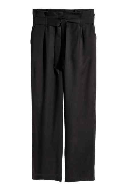 Vide bukser i lyocell