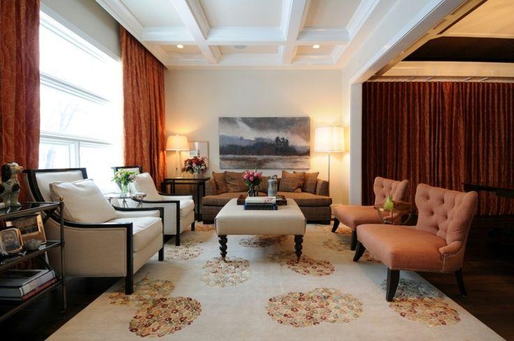 decoracion de salones lujosos modernos