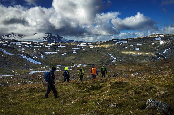 Hiking by Kristin Brænd on 500px