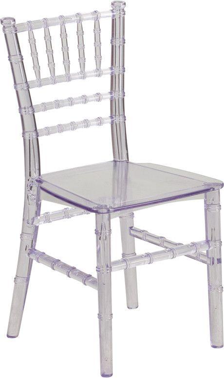 Kids Crystal Transparent Chiavari Chair