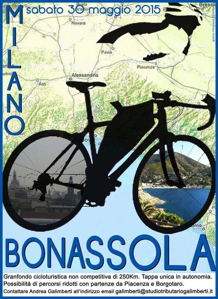 Oggi la Granfondo Cicloturistica...#bikelovers #Bonassola