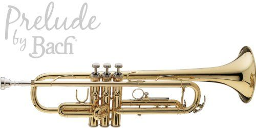 Bach Prelude Trumpet Comes complete with a genuine Bach 7C mouthpiece and hard-shell carrying case.FREE DELIVERY $592.53