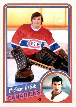 Oui, Tretiak a déjà fait partie de l'organisation du Canadien de Montréal. Repêché à la fin de sa carrière, en 1983.