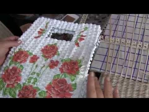 Bolsos 2015. Variante tejida de damas. Parte 9.2. - YouTube