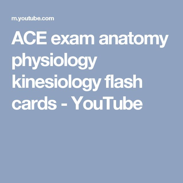 The 16 Best Ace Test Images On Pinterest Anatomy Anatomy