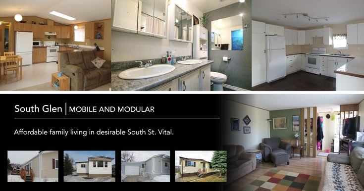 Mobile and Modular. Homes in South Glen. #St.Vital #Winnipeg