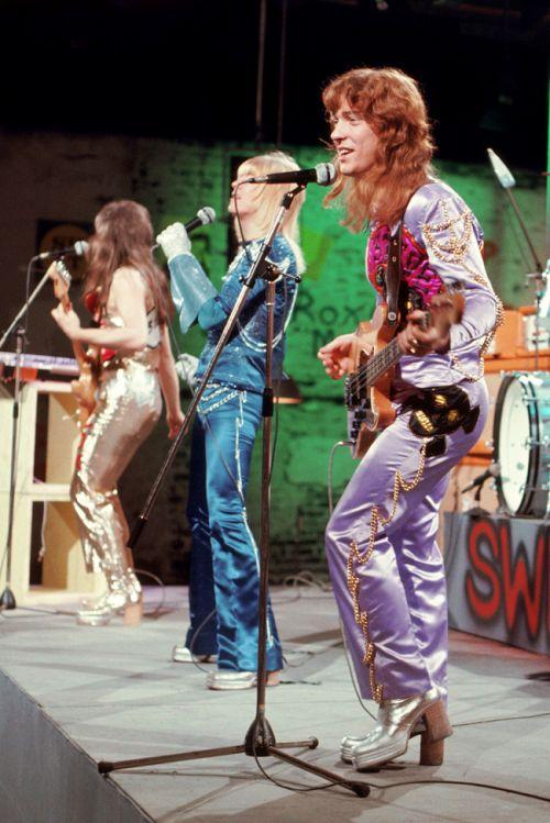 "glamidols: ""The Sweet "" November 11, 1974, on Germany's Musikladen"