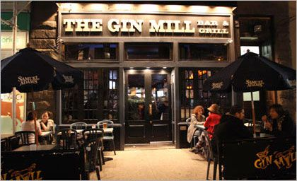 Gin Mill 442 Amsterdam Avenue Between Street Football Find This Pin And More On NYC UWS