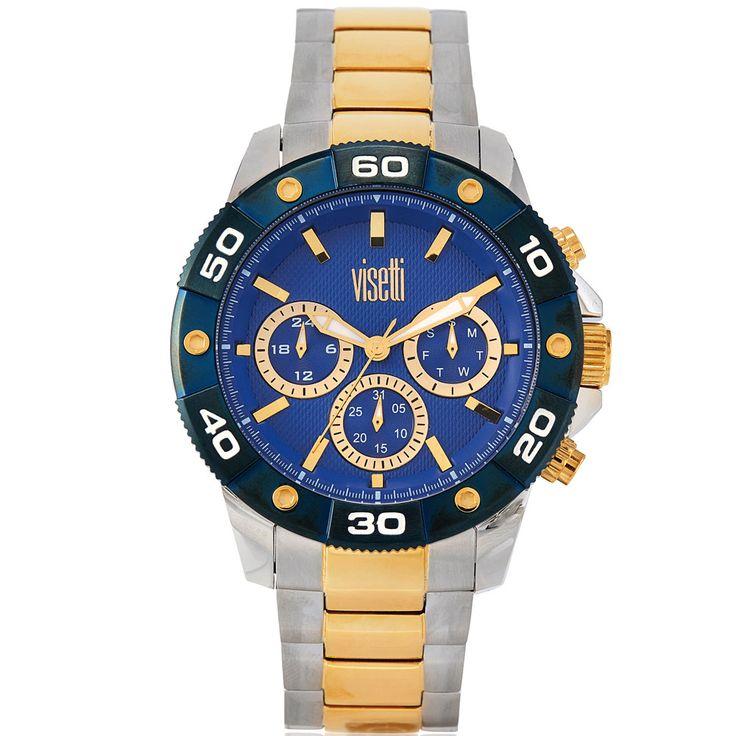 Ρολόι Visetti Atmosphere Series Two Tone Stainless Steel Bracelet - See more at: http://www.e-jewels.gr/e-shop/rologia/%CE%A1%CE%BF%CE%BB%CF%8C%CE%B9-Visetti-Atmosphere-Series-Two-Tone-Stainless-Steel-Bracelet23575-detail.html#sthash.1HhPKtOR.dpuf
