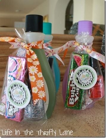 Birthday favor ideas for spa party.                                                                                                                                                     More