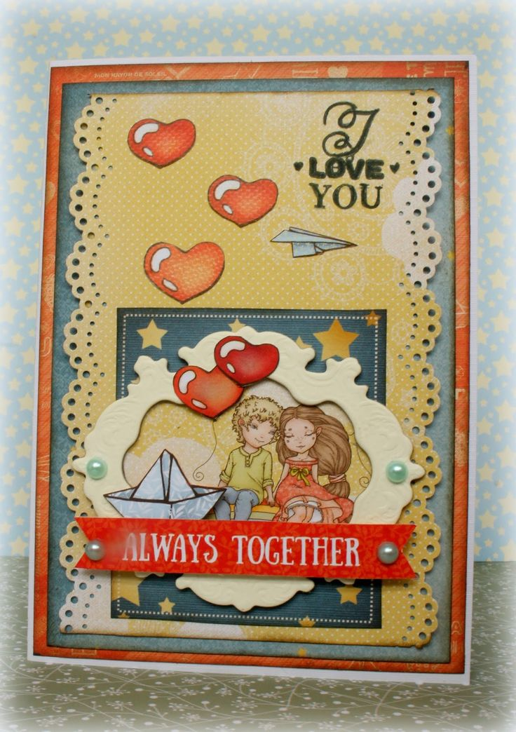 ScrapBerry's: a romantic card by Romy Veul with Sweetheart collection